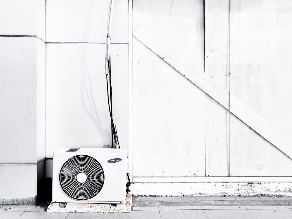 【開店へ向けて改装中】2020-8-27|エアコン設置